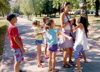 Летен интензивен курс-занималня по английски език - час в парк Заимов